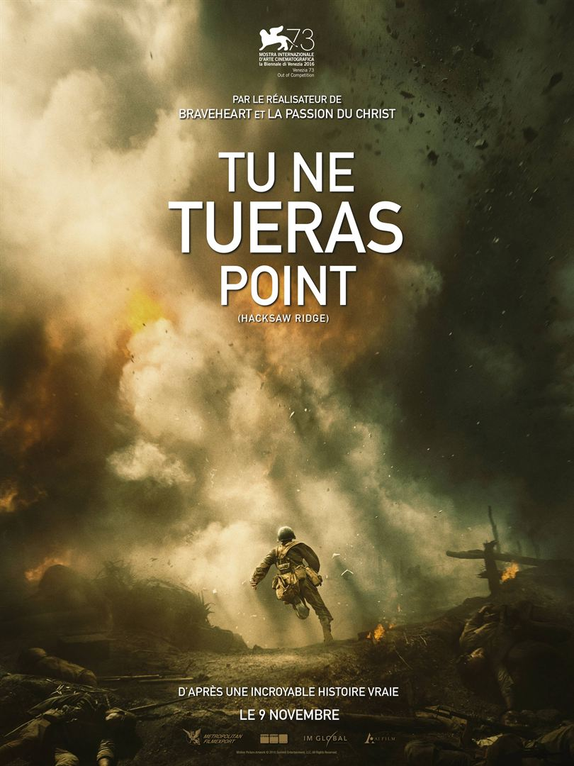 Afffiche film Tu ne tueras point